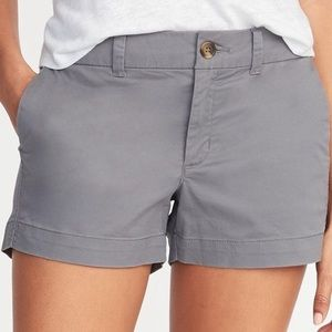 🆕 Old Navy Grey Khaki Shorts GUC